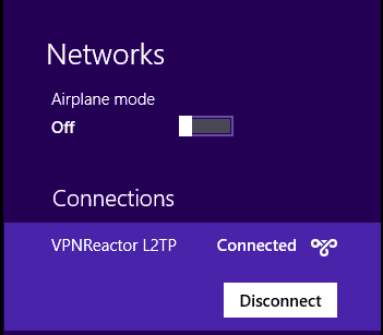 l2tpdisconnect